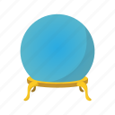 ball, card, cartoon, christal, cristal, empty, magic icon
