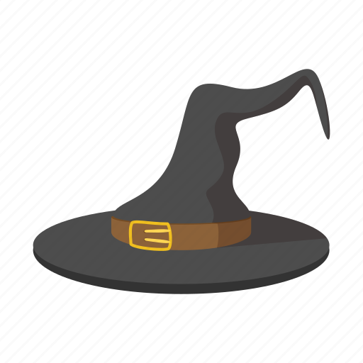 cartoon, costume, decoration, halloween, hat, scary, witch icon