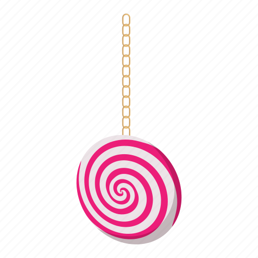 cartoon, chain, hypnosis, old, pocketwatch, spiral, time icon