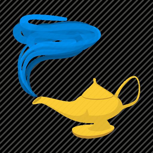 aladdin, alladin, cartoon, east, lamp, magic, old icon