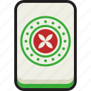 gambling, luck, mahjong, majiang icon