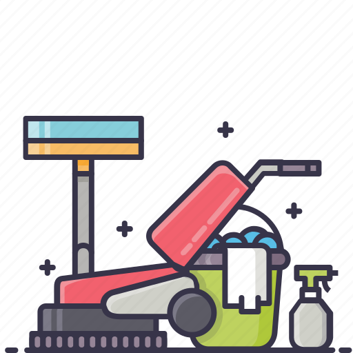 cleaning, deep, one, time icon