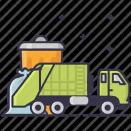 disposal, garbage icon