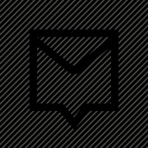 bubble, communication, mail, message icon
