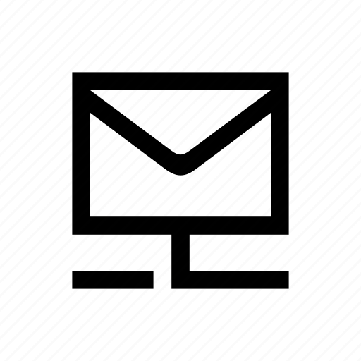 connection, mailbox icon
