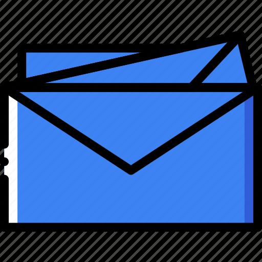 envelope, envelopes, letter, mail, message icon