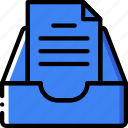 envelope, letter, mail, message, storage icon