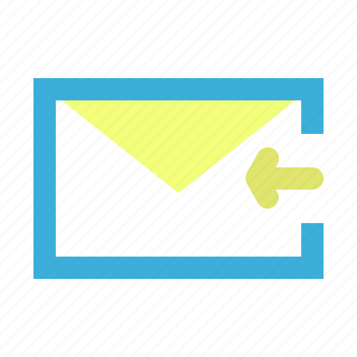 chat, email, mail, message, received icon
