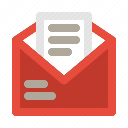 chat, email, mail, message, open icon