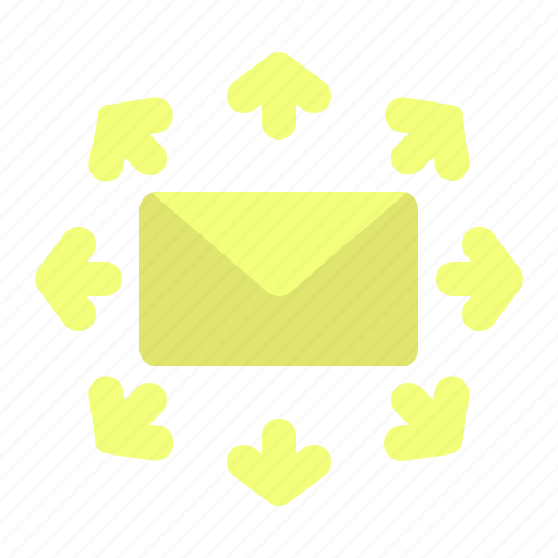 chat, email, mail, message, send icon