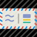 envelope, letter, mail, message, postcard