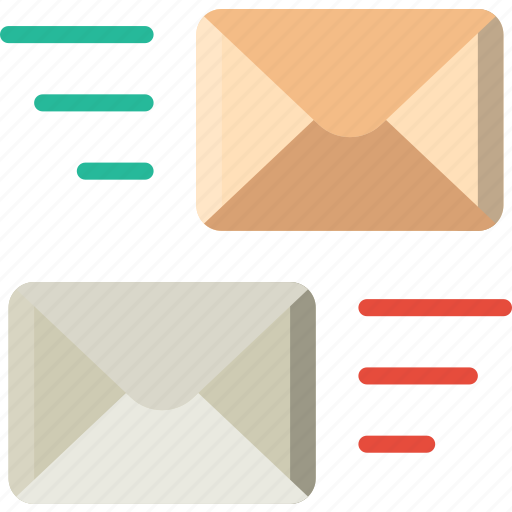 envelope, letter, mail, message, transfer icon