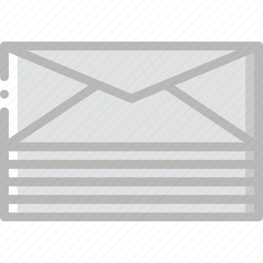 envelope, letter, letters, mail, message, stacked icon