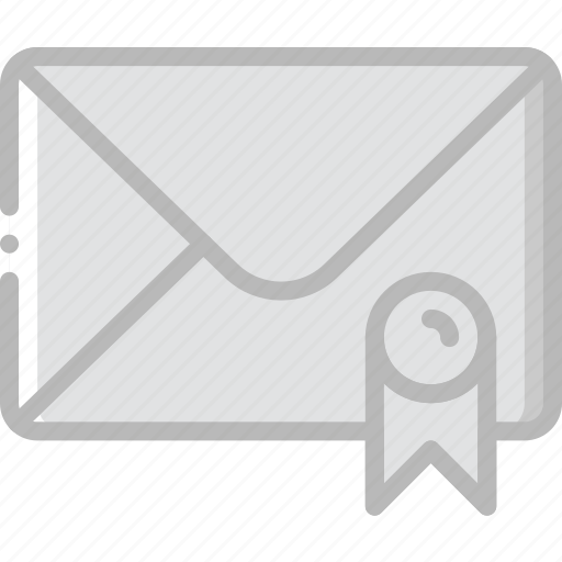 envelope, letter, mail, message, recommandation icon
