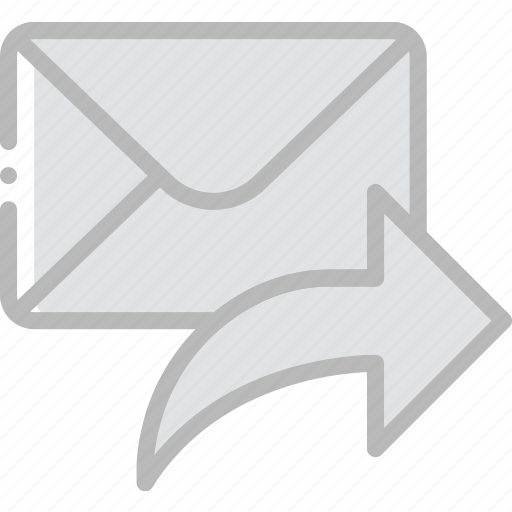 envelope, letter, mail, message, reply, to icon