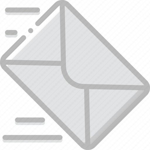 envelope, letter, mail, message, send icon