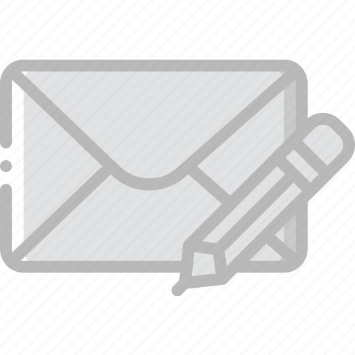 compose, envelope, letter, mail, message icon