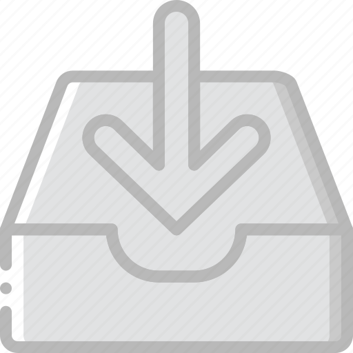 envelope, letter, mail, message, receive icon