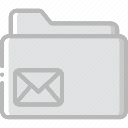 envelope, folder, letter, mail, message icon