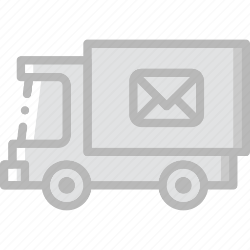 car, envelope, letter, mail, message icon