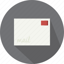 email, envelope, letter, mail, message, vintage icon