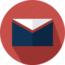 email, envelope, mail, message, note icon
