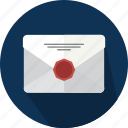 badge, email, envelope, mail, message, note icon