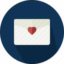 envelope, i love you, letter, love, mail, message, romantic icon