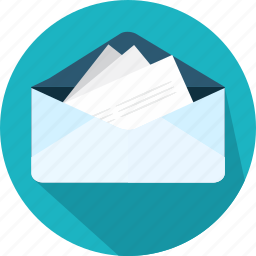 email, envelope, inbox full, message icon