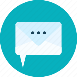 chat, envelope, event, inbox, mail, online icon