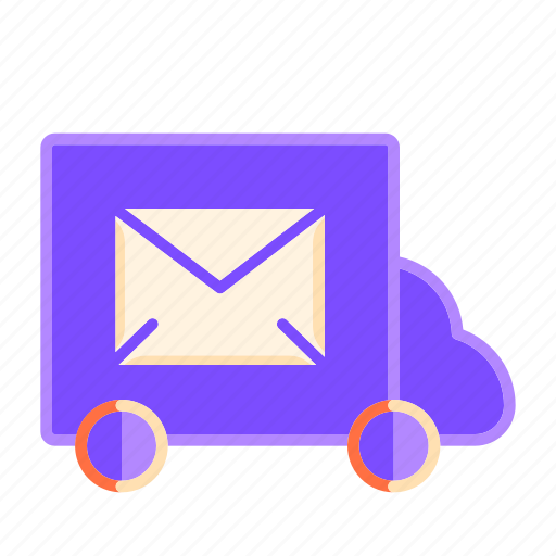 delivery, envelope, letter, mail delivery, post delivery, post service, shipping icon