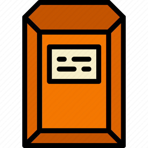 document, envelope, letter, mail, message icon