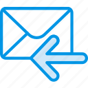 envelope, letter, mail, message, receive