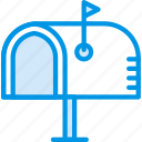 envelope, letter, mail, mailbox, message icon