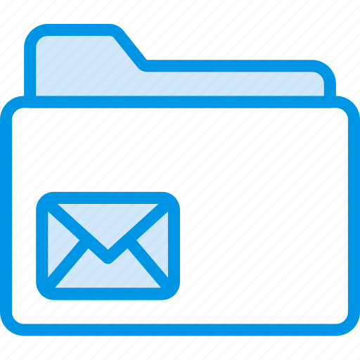 envelope, folder, letter, mail, message icon