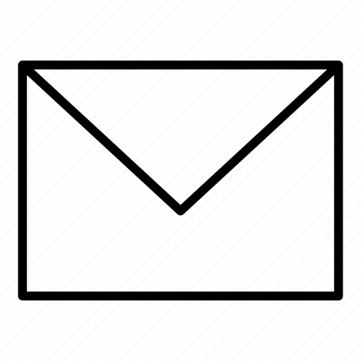 envelope, letter, mail, mailing, office icon