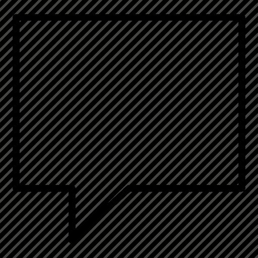 bubble, communicate, message, reply, speech bubble icon