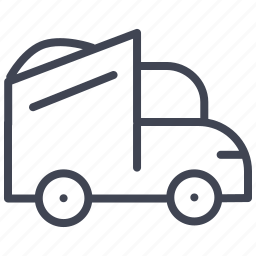 construction, maintenance, transport, transportation, truck, vehicle icon