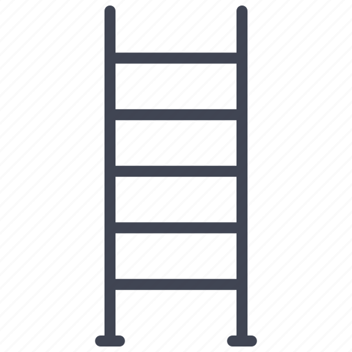 construction, equipment, ladder, ladders, maintenance icon