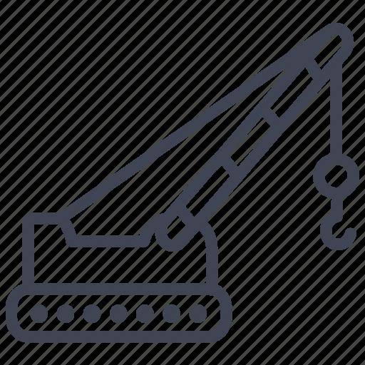 architecture, building, construction, crane, equipment, large, maintenance icon