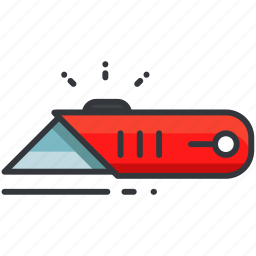 box, construction, cut, cutter, equipment, maintenance, tool icon