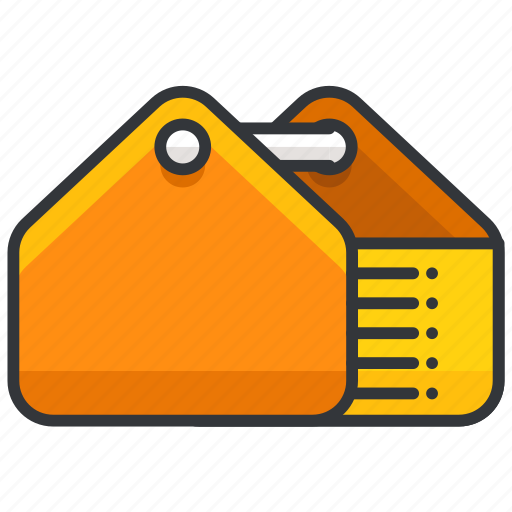 construction, empty, equipment, maintenance, tool, toolbox icon