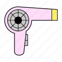 blower, grooming, hairstyle, salon