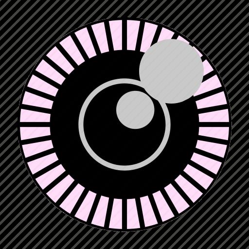 beauty, contact lens, eye, softlens icon