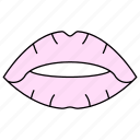 kiss, lips, lipstick, makeover icon