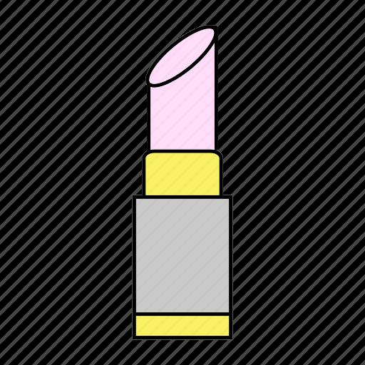 beauty, cosmetic, lipstick, makeup icon