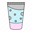 liquid, lotion, soap, tube icon
