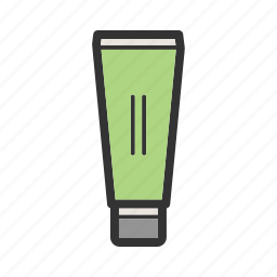 cream, gel, health, pain, sunscreen, toothpaste, tube icon