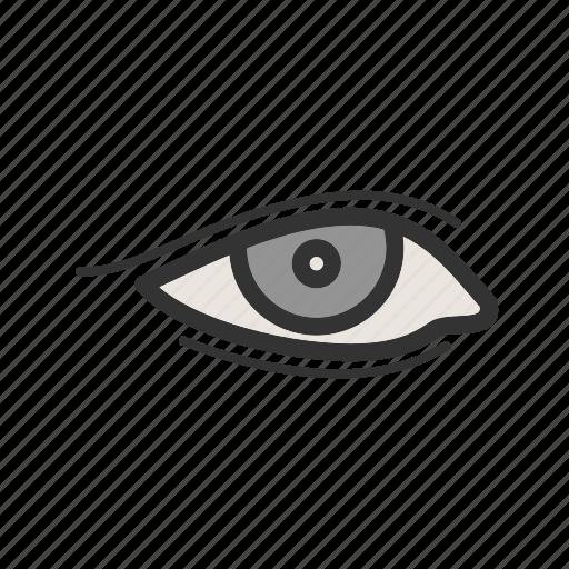 Beautiful, beauty, eyeliner, eyes, liner, makeup, model icon - Download on Iconfinder