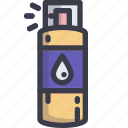bottle, liquid, mineral, spray, water icon